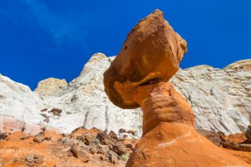 Toadstool Hoodoos, Arizona.