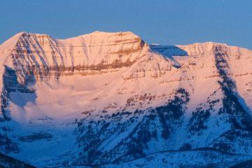 Mount Timpanogos, Utah.