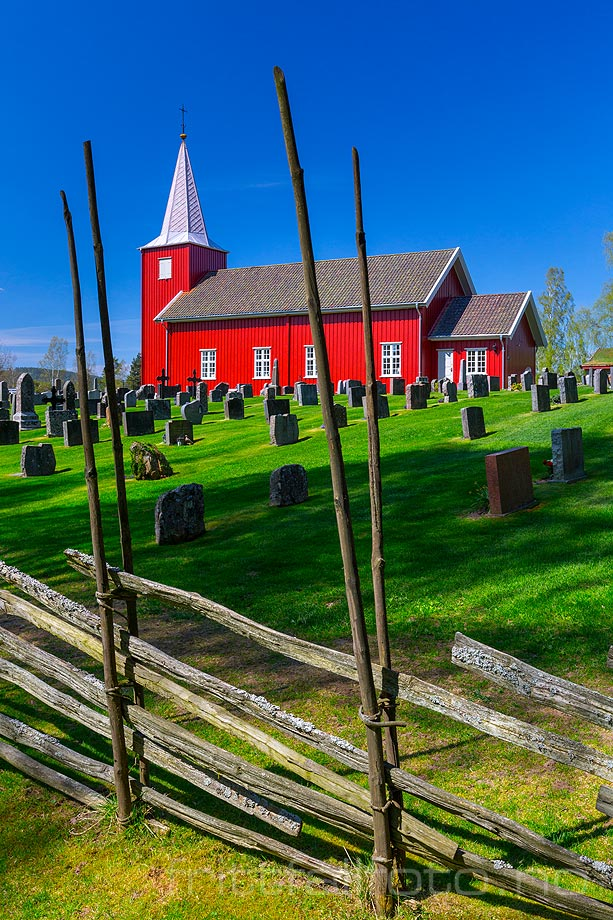 Rømskog kirke i Rømskog, Østfold.