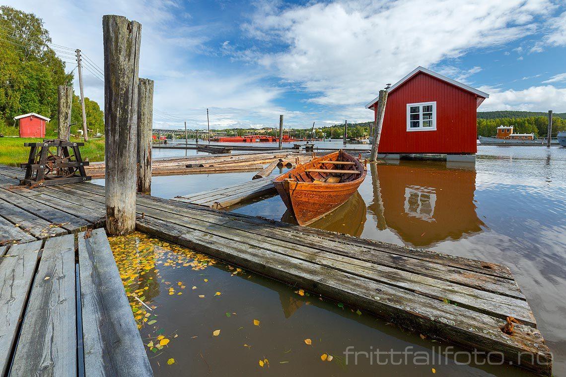 Ved Fetsund Lenser i Glomma nær Fetsund, Fet kommune, Akershus.