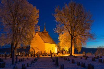 Bø gamle kyrkje, Midt-Telemark.