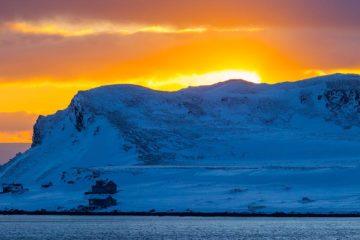 Veidnes på Magerøya, Nordkapp.