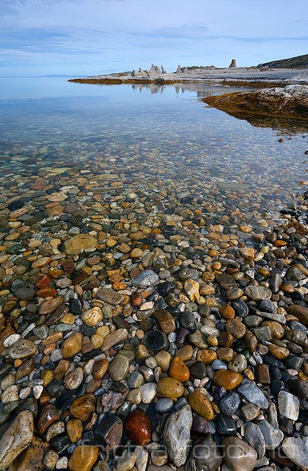 Ved Trollholmsundet i Porsangerfjorden, Porsanger, Finnmark.