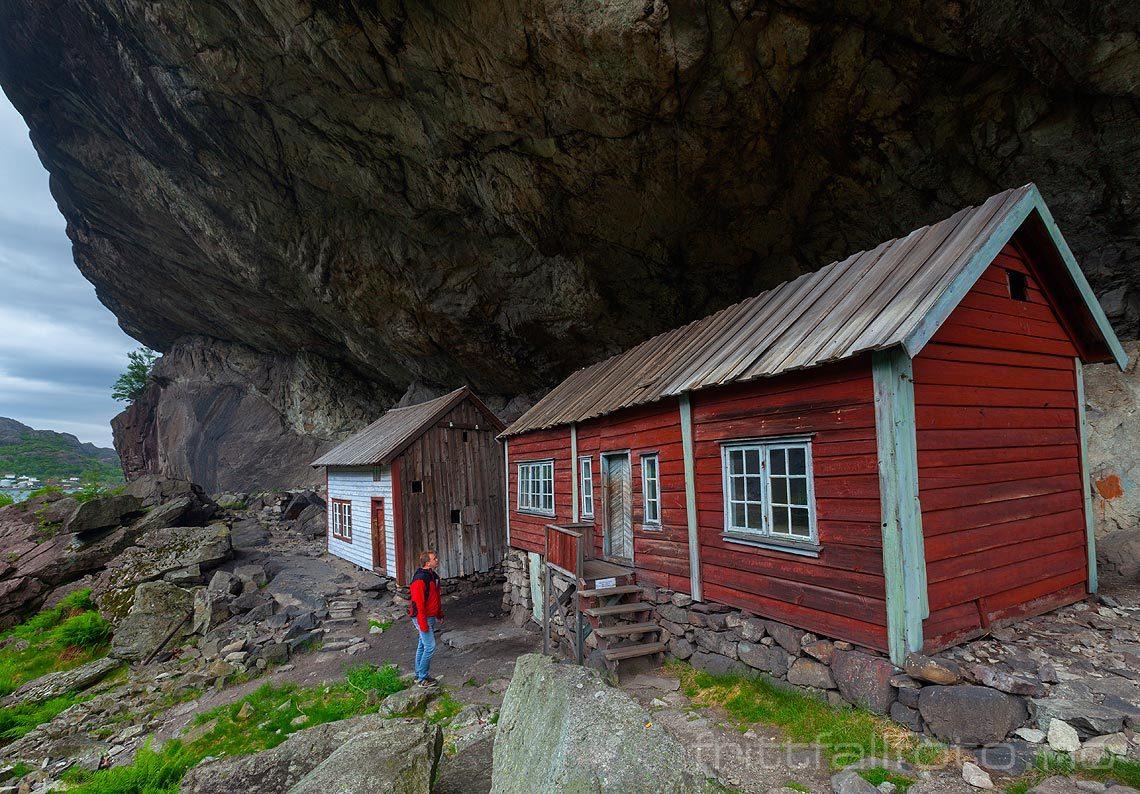 Ved Helleren nær Jøssingfjorden, Sokndal kommune, Rogaland.