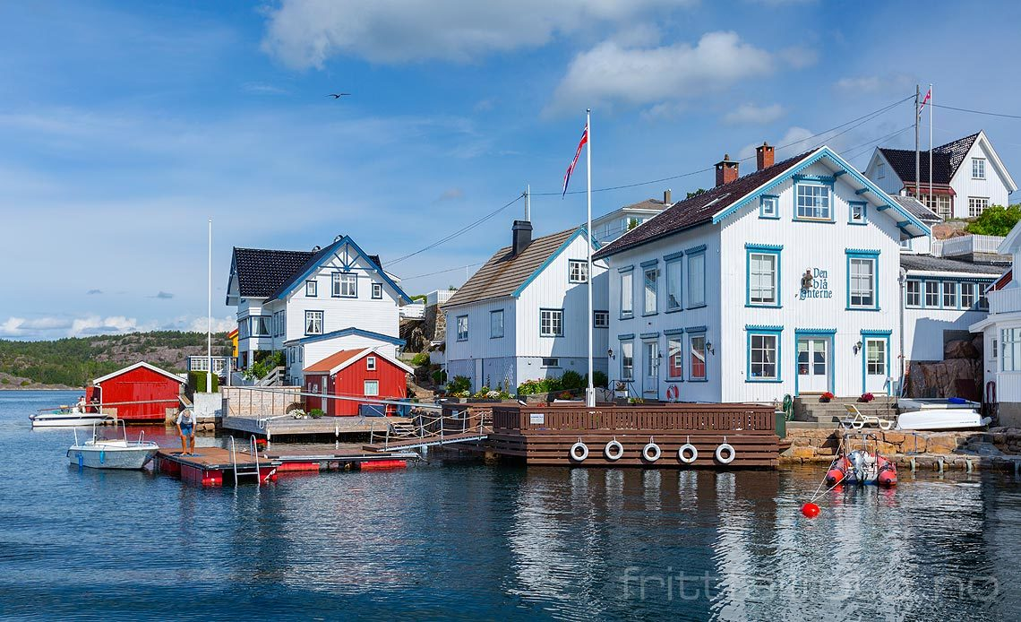Ved Store Svalsund på Lyngør, Tvedestrand, Agder.<br>Bildenr 20140816-106.