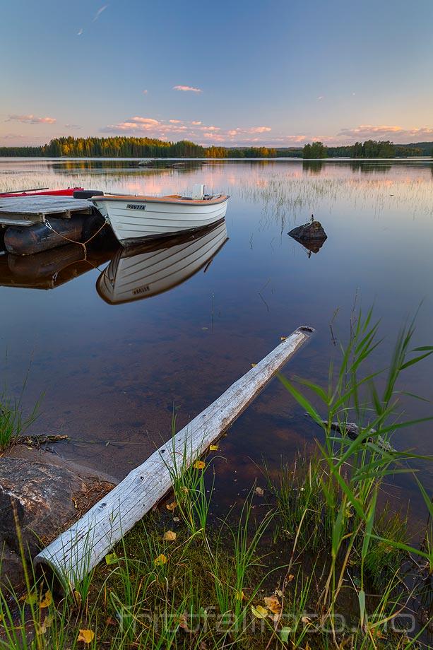 Ved Ljønervika i Skjervangen, Eidskog kommune, Hedmark.