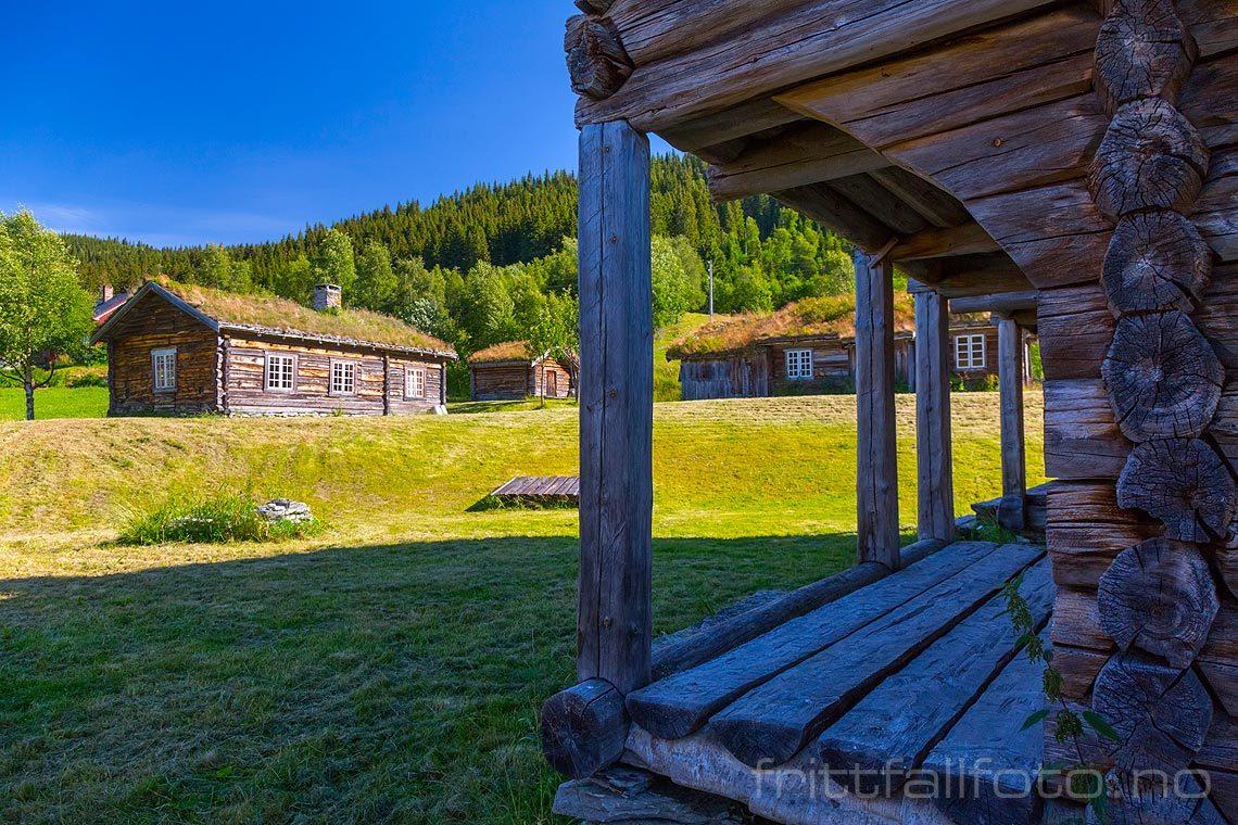 Ved Tylldalen bygdetun i Tylldalen, Tynset kommune, Hedmark.