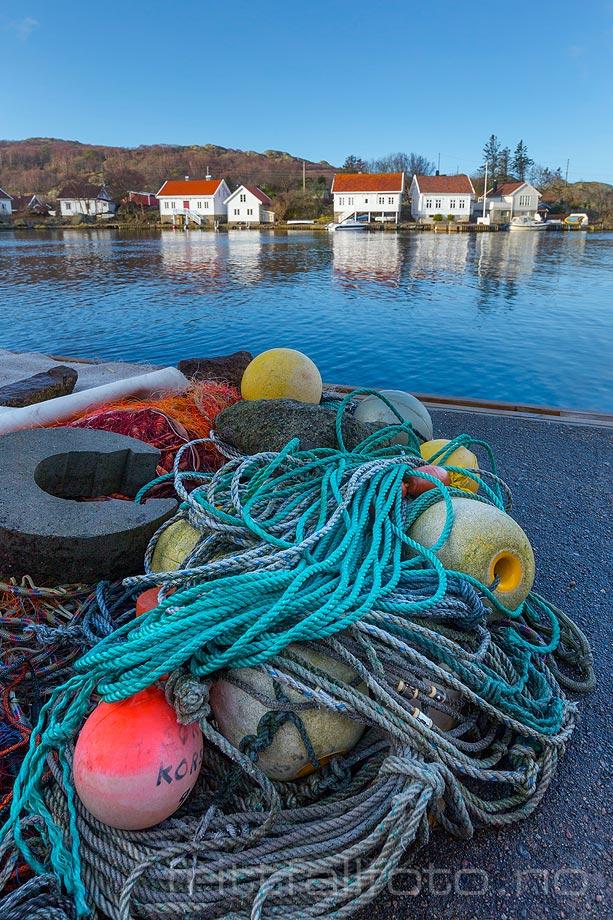 Ved Korshavn på Revøy, Lyngdal kommune, Vest-Agder.