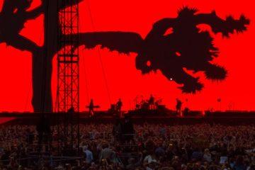 U2 i Croke Park, Dublin.