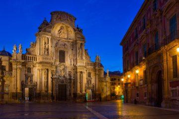 Catedral de Murcia, Spania.