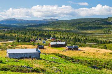 Øksendalen, Ringebu.