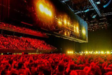 U2 i Amsterdam.