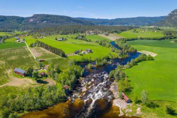 Bøelva, Midt-Telemark.