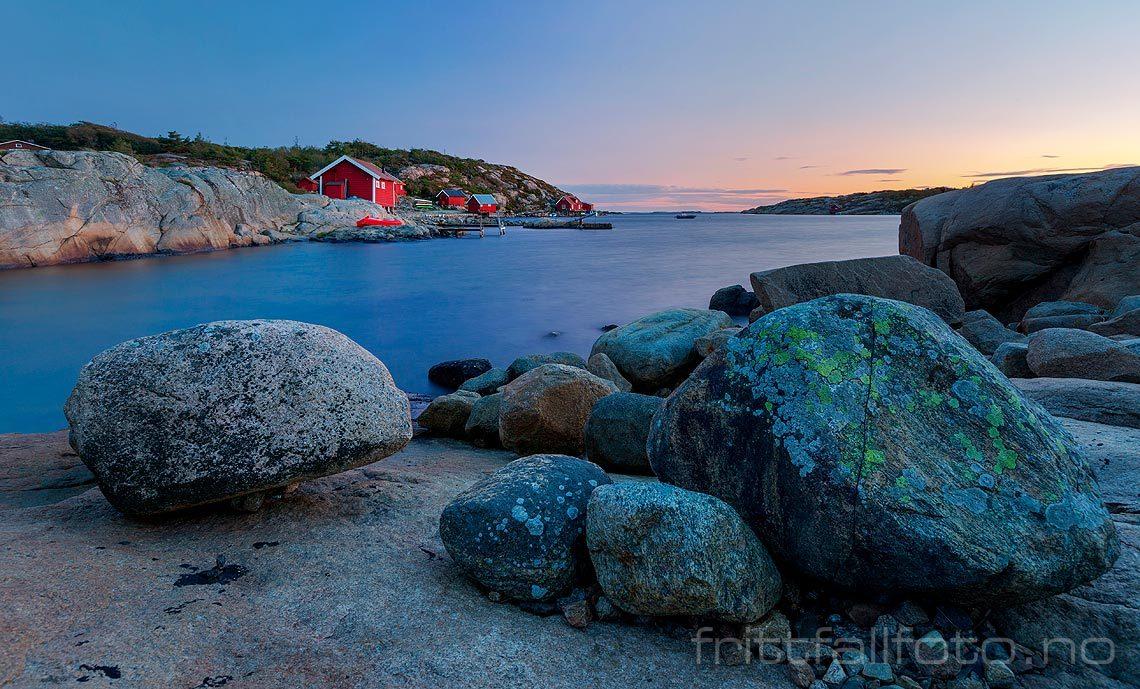 Septemberkveld ved Kuvauen på Vesterøy, Hvaler, Viken.<br>Bildenr 20190916-181.