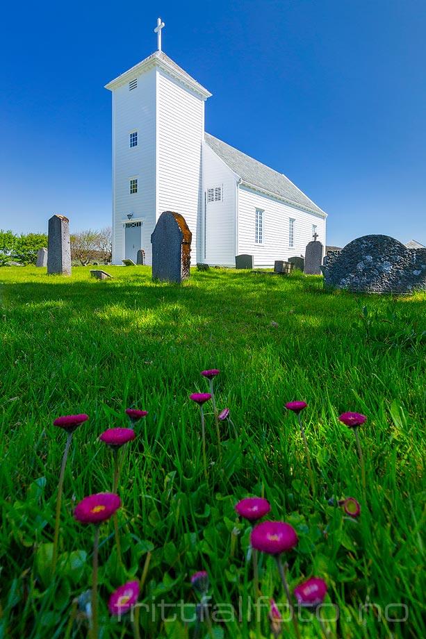 Maidag ved Bokn kirke, Bokn, Rogaland.<br>Bildenr 20200530-0527.